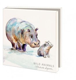 Card Wallet  Wild animals, Michelle Dujardin