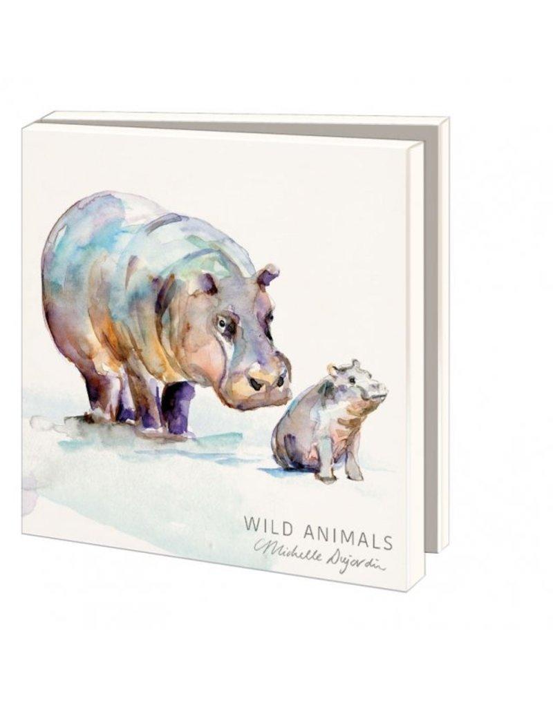 Kaartenmapje Wild animals, Michelle Dujardin