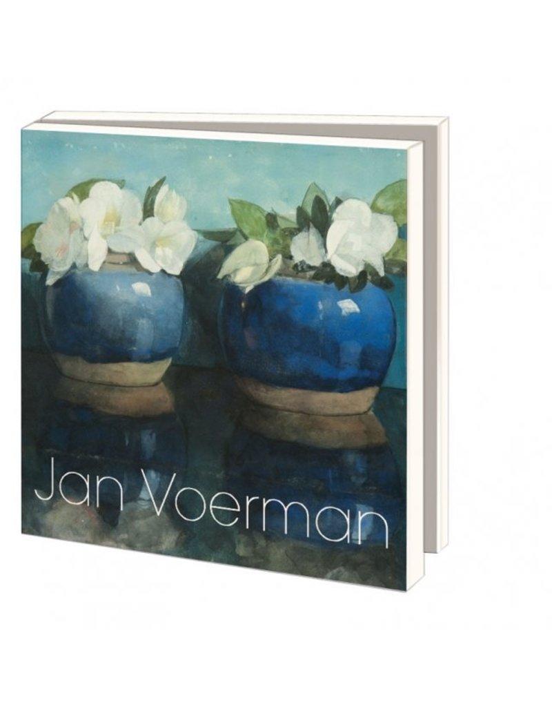 Kaartenmapje Flowers, Jan Voerman