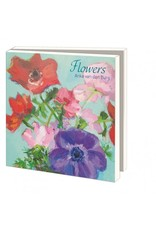Card Wallet  Flowers, Anke van den Burg