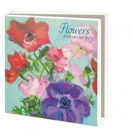 Kaartenmapje Flowers, Anke van den Burg