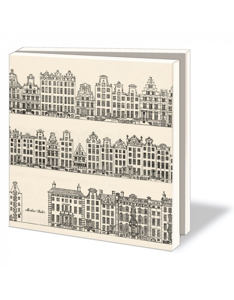 Card Wallet Canal Houses, Caspar Philips Jacobszoon
