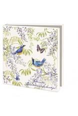 Card Wallet Birds and Butterflies, Janneke Brinkman