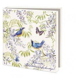 Kaartenmapje Vogels en vlinders, Janneke Brinkman