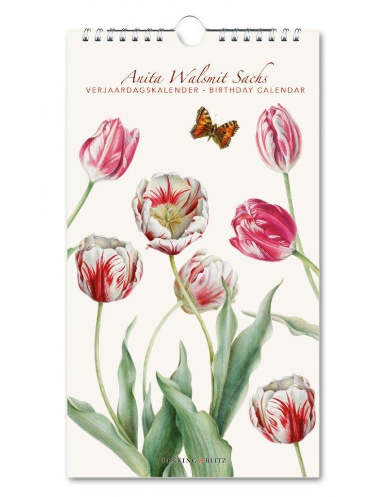 Verjaardagskalender Tulipa, Anita Walsmit Sachs