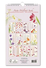 Birthday calendar Tulipa, Anita Walsmit Sachs