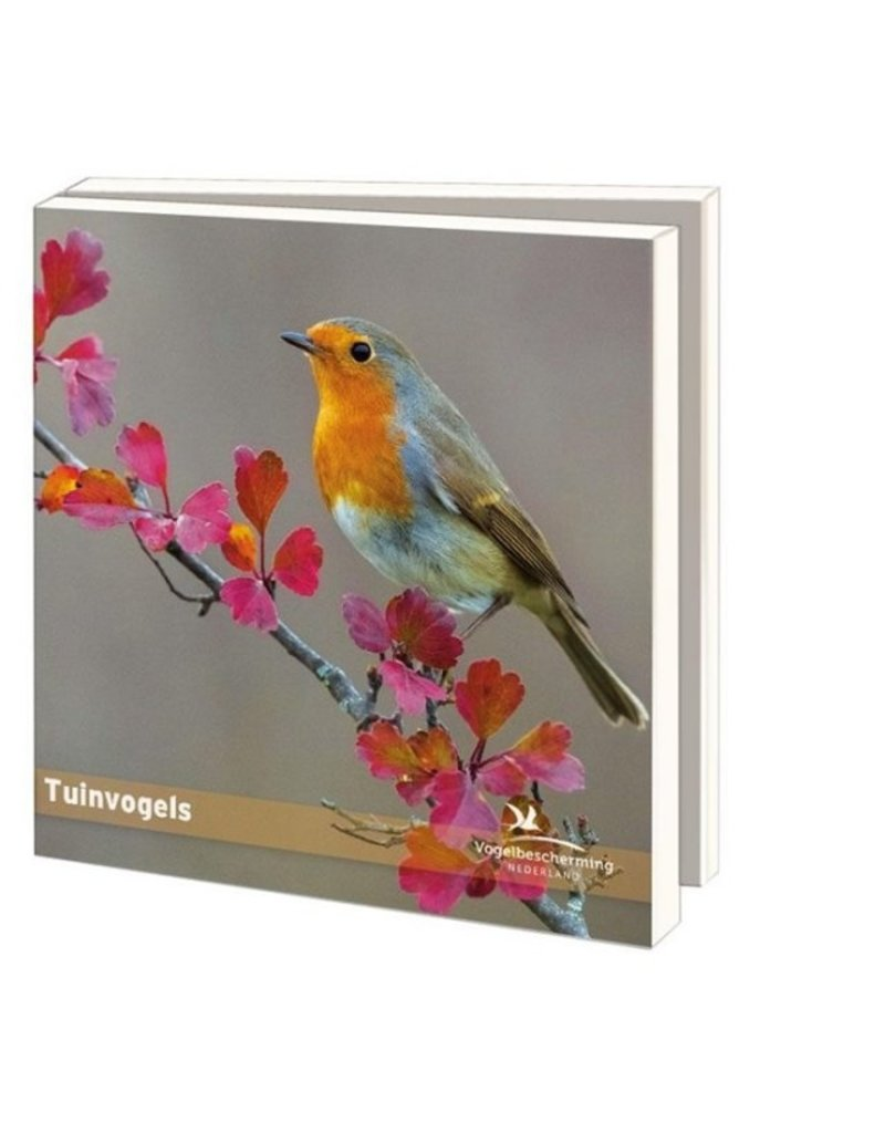 Card Wallet Garden Birds, Bird Protection Netherlands