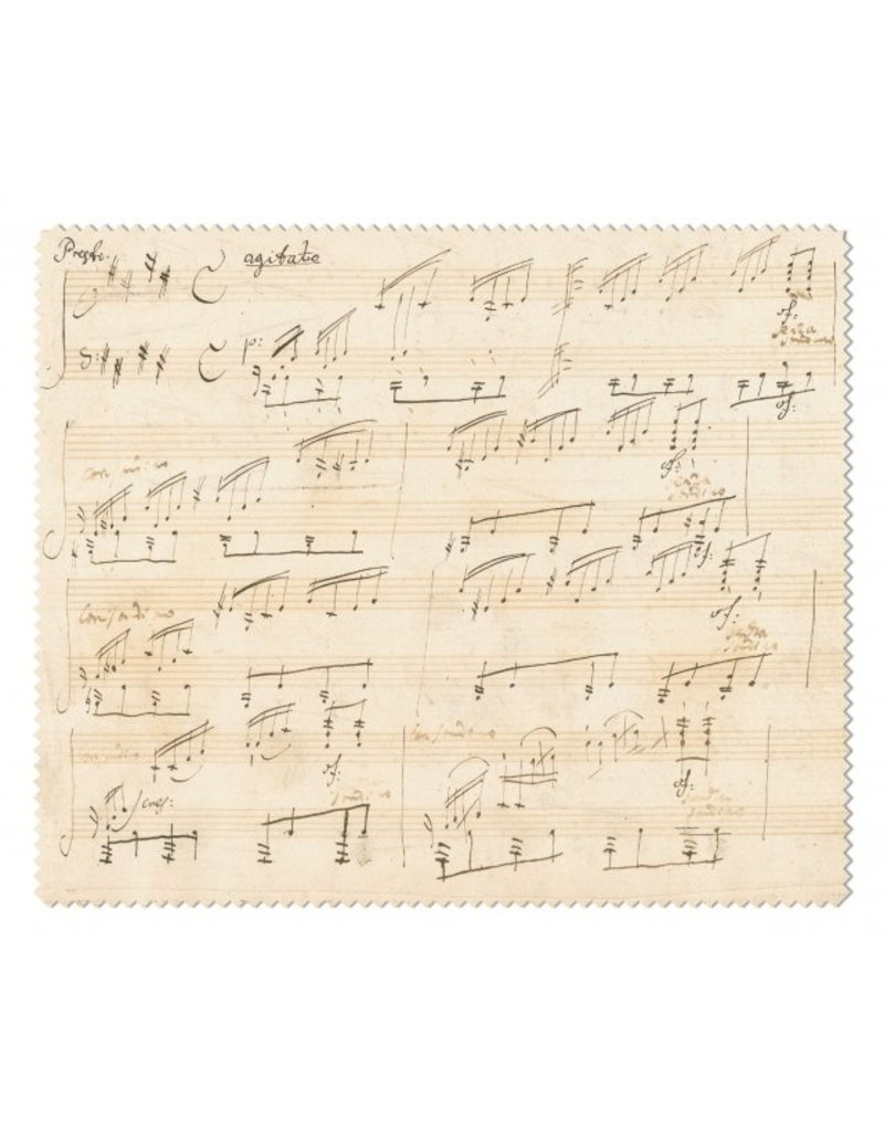 Brillendoekje Moonlight Sonata op. 27,2, Ludwig van Beethoven, Beethoven-Haus Bonn