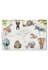 Placemat African Animals, Michelle Dujardin