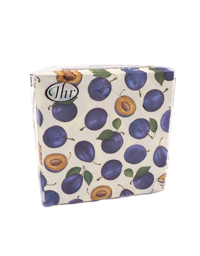Napkins  Lunch Plums Cream