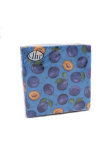 Napkins  Lunch Plums Blue