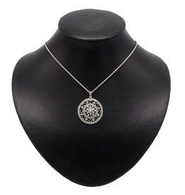 Necklace Circle flower