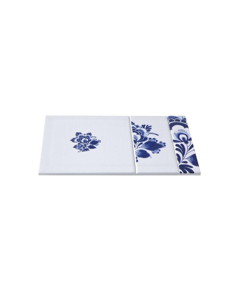 Serving plate Plain blue1653