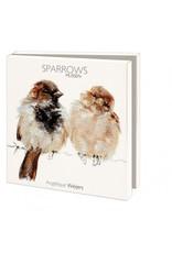 Card Wallet Sparrows, Angelique Weijers