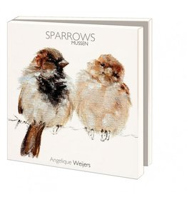 Card Wallet Sparrows, Angelique Weijers
