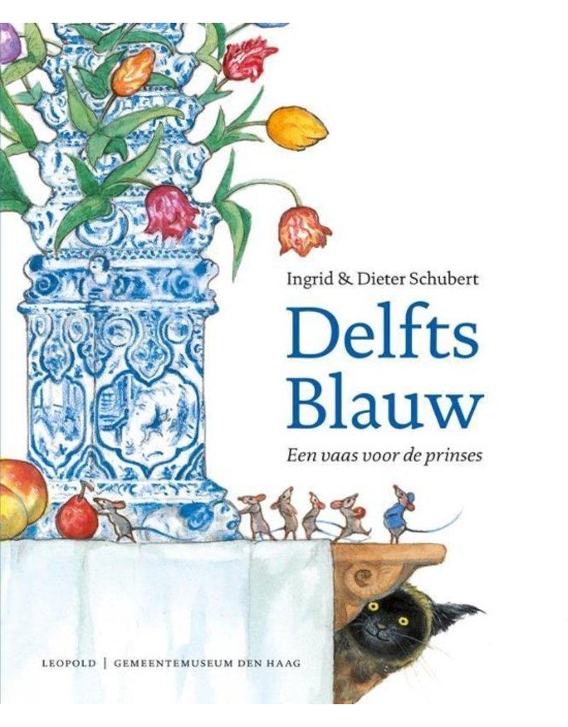 Delfts Blauw een vaas voor de prinses