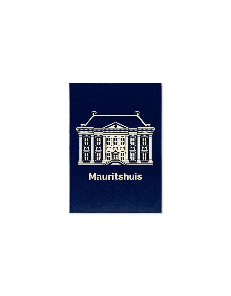 Pop-up kaart Mauritshuis