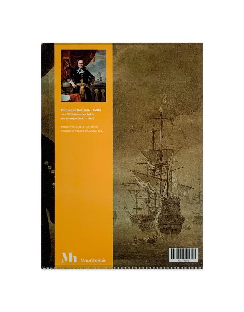 A4 Insert folder Michiel de Ruyter