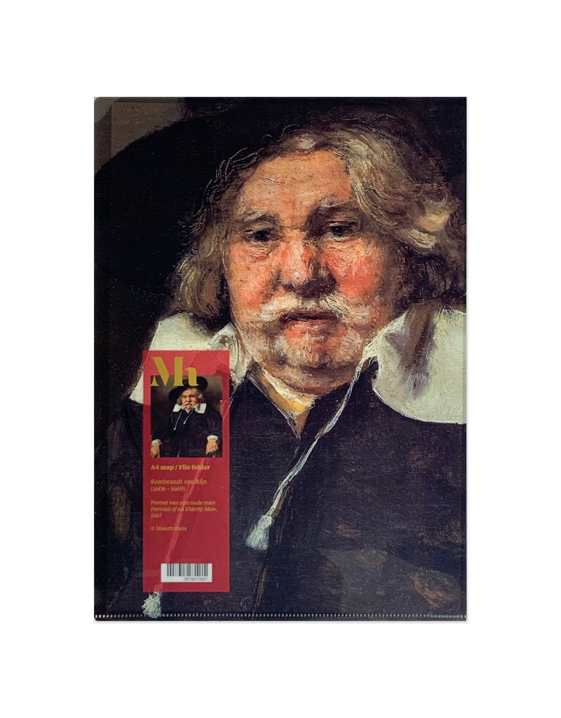 A4 Insteekmap Rembrandt - Oude Man
