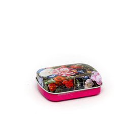 Mint tin flowers De Heem