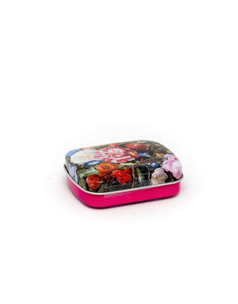 Mint tin flowers De Heem