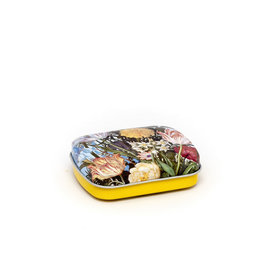Mint tin flowers Bosschaert