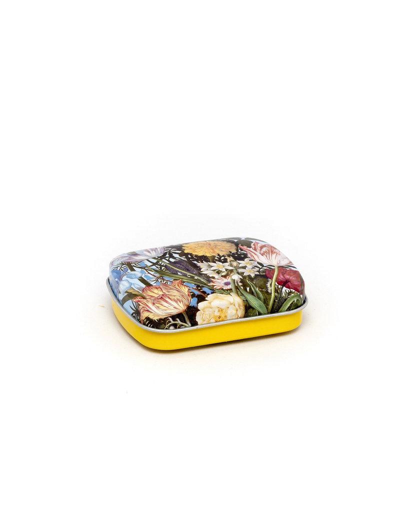 Mint tin flowers Bosschaert