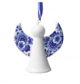 Engeltje hanger Delfts blauw