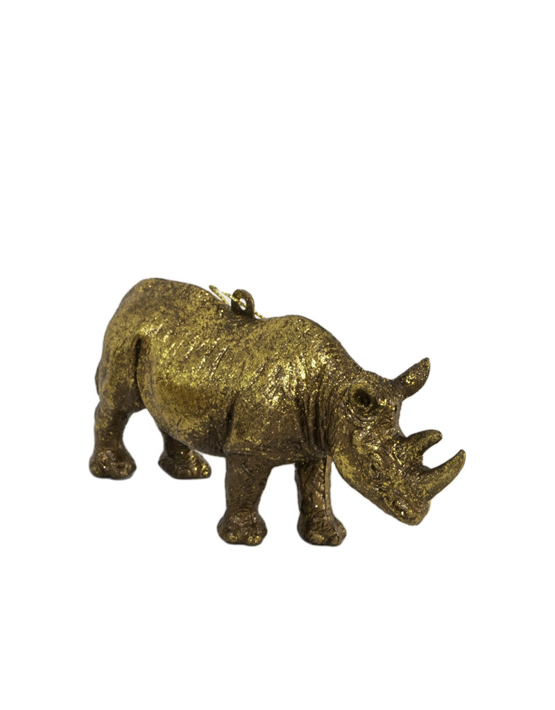 Neushoorn ornament