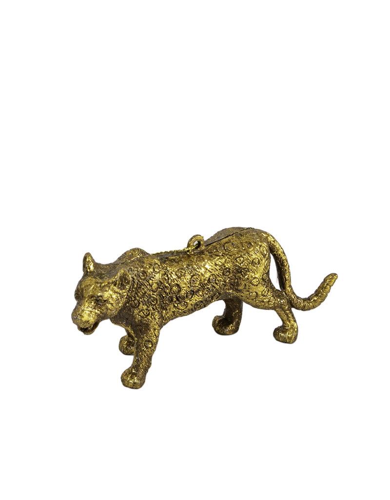 Leopard ornament