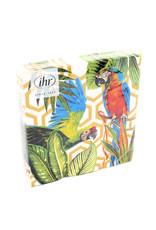 Napkins Lunch Tropical Parrots