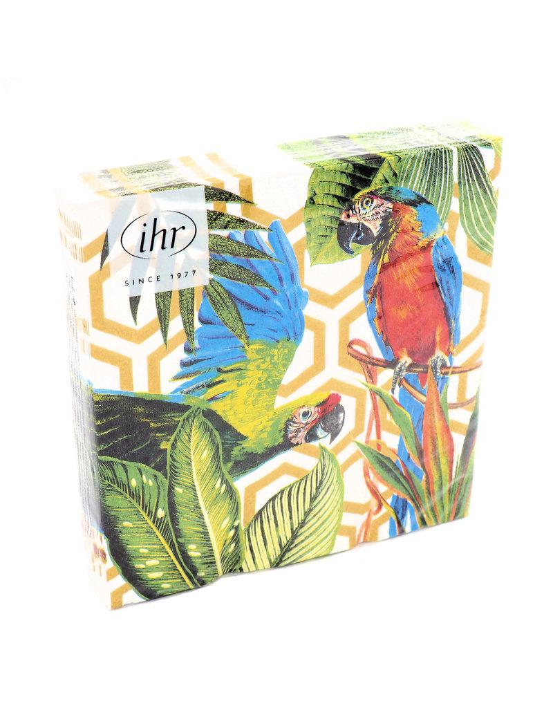Servetten Lunch Tropical Parrots