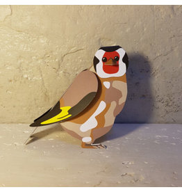 Goldfinch folding card with envelope