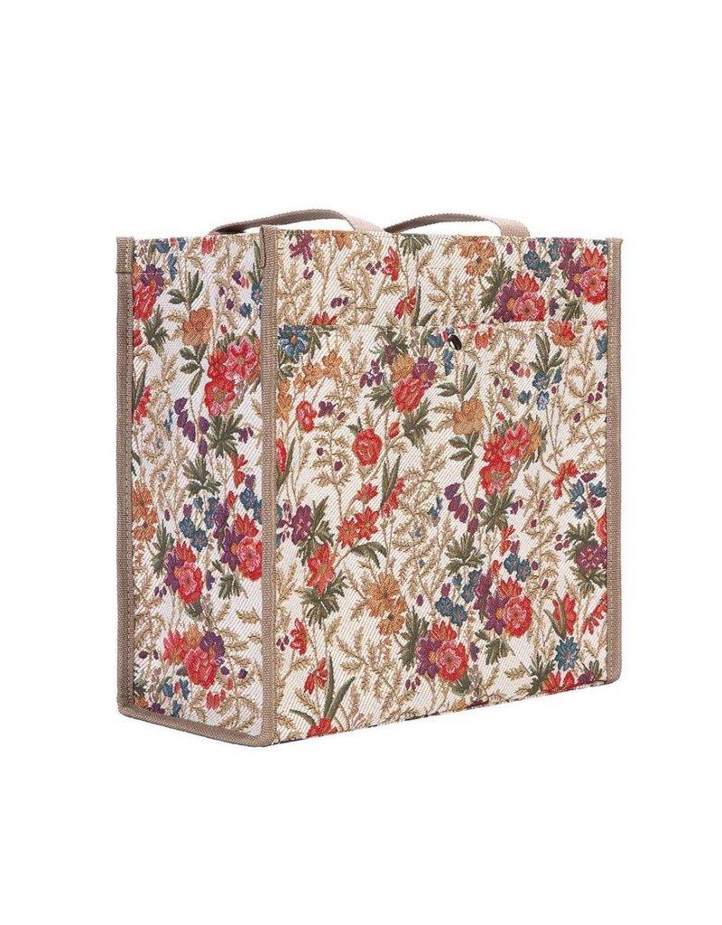 Shopper tas Flowers Meadow - William Kilburn