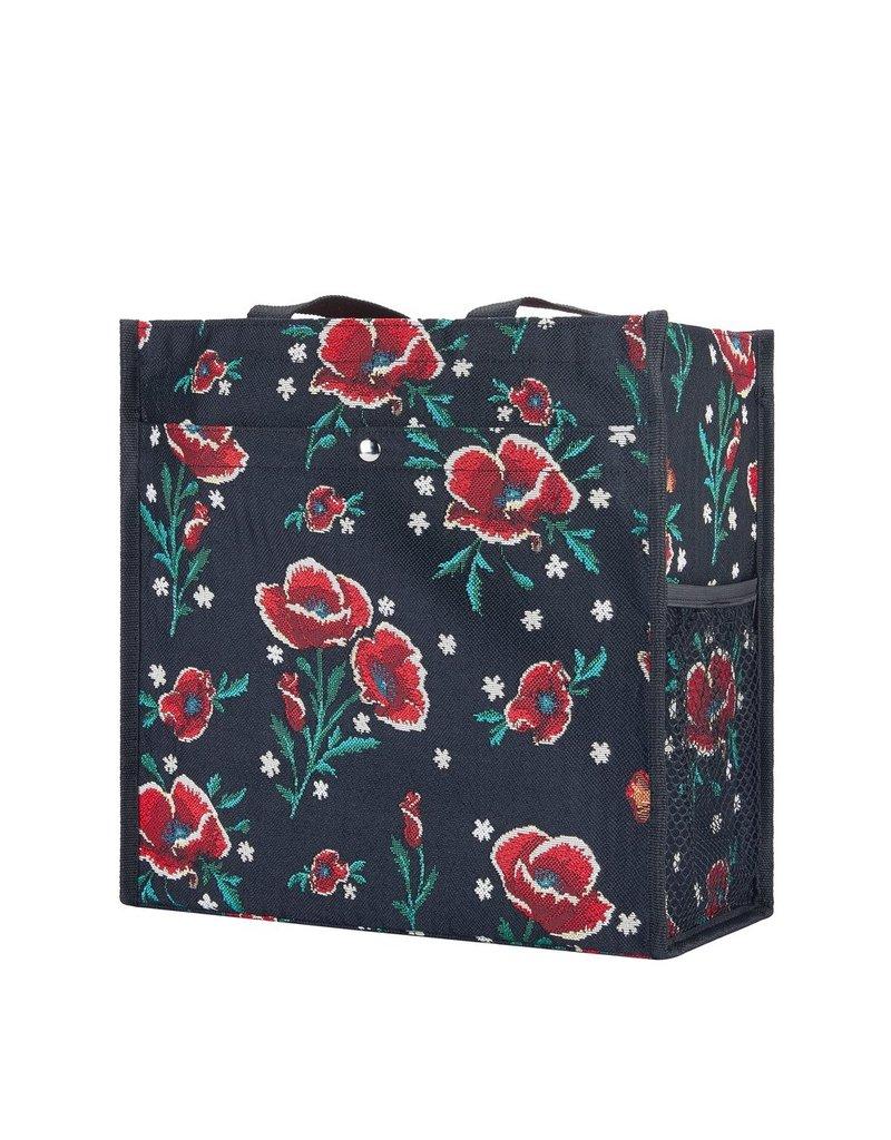 Shopper tas Frida Kahlo klaproos