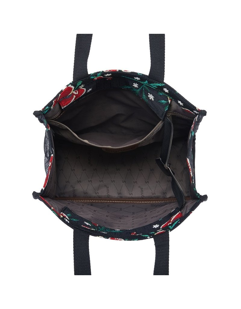 Shopper bag Frida Kahlo poppy