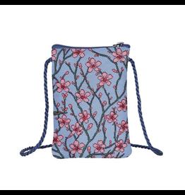 Smartphone tasje Bloesem en zwaluw