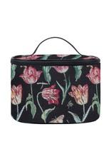 Toiletry bag Tulip black