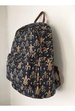 Backpack Fleur de lis