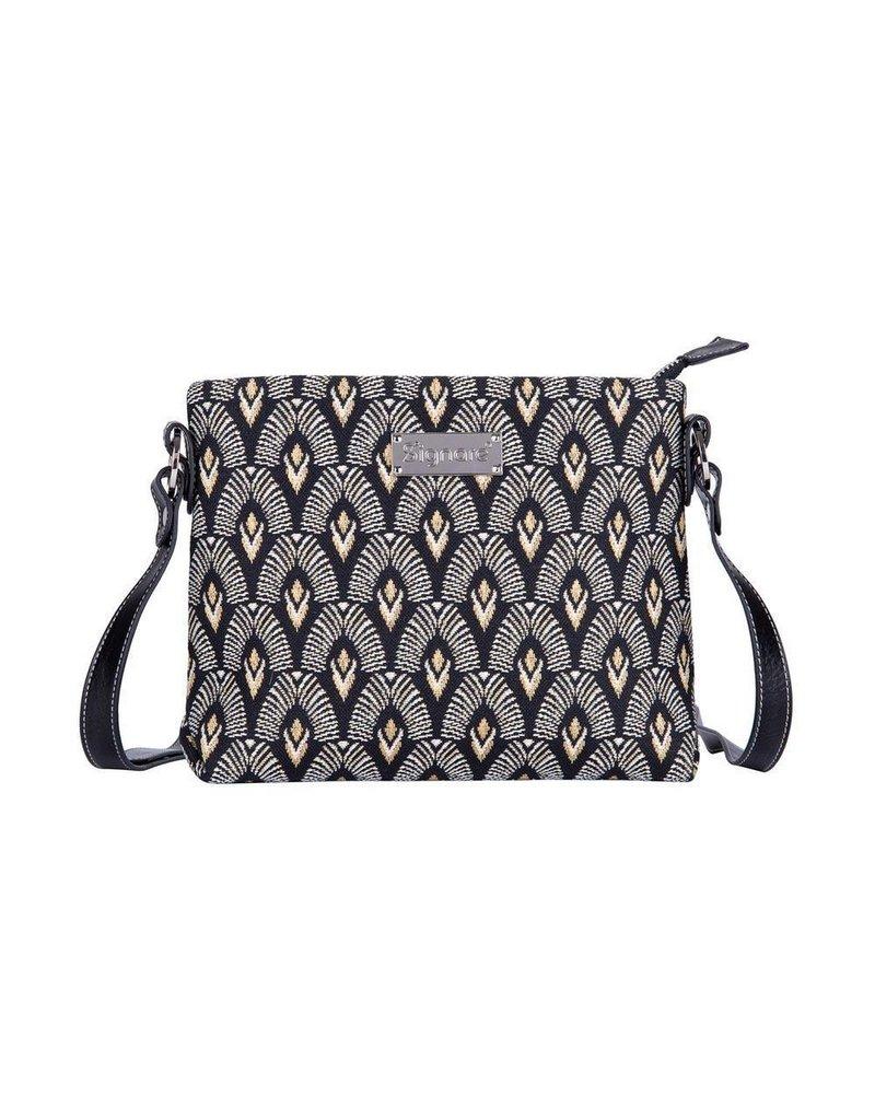 Shoulder bag Luxor Art Deco Style