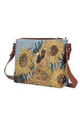 Shoulder bag Gobelin Sunflower- van Gogh