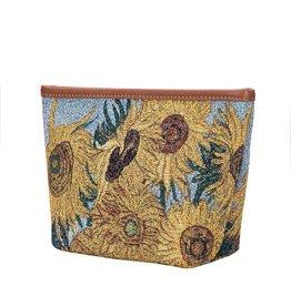 Make up bag Sunflower - van Gogh