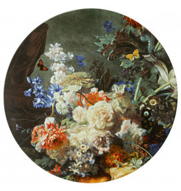 Wall plate flowers
