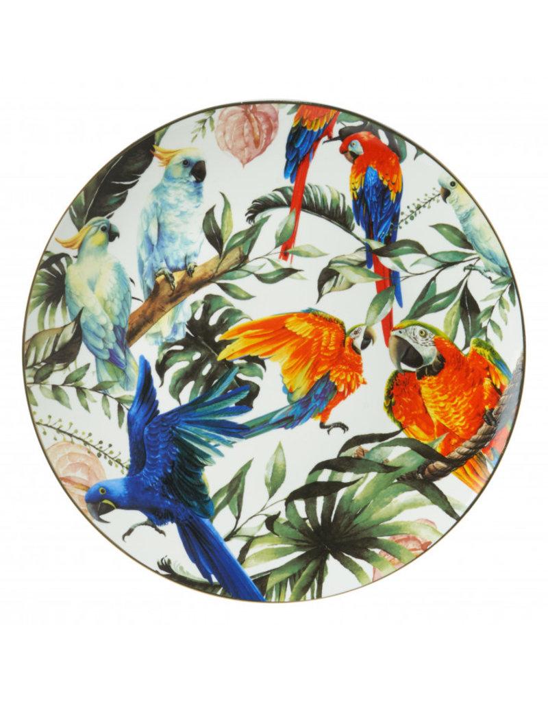 Wandbord Tropische vogels