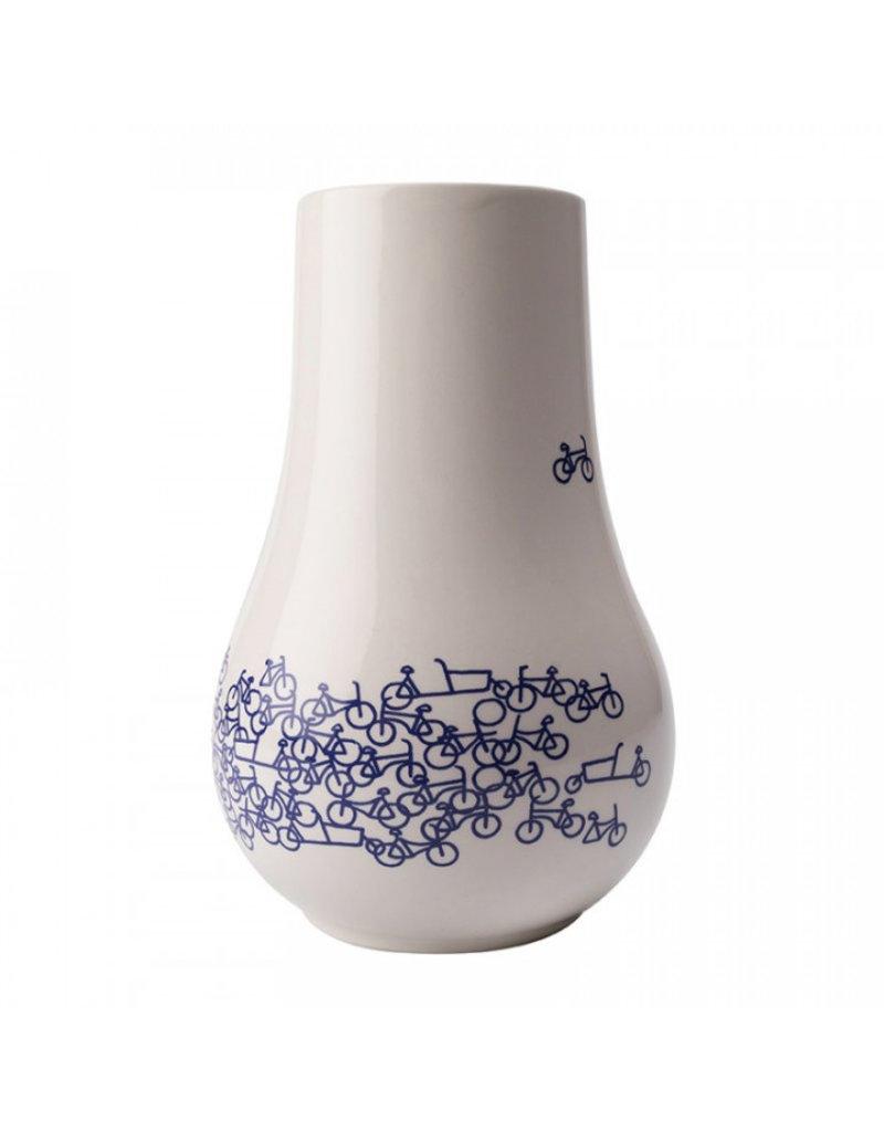 Vase  Bicycle Delft blue