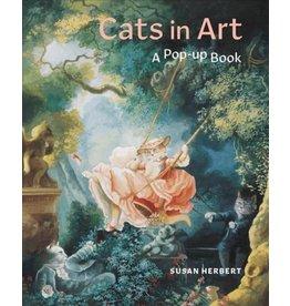 Cats in Art, A Pop-Up Book- engels