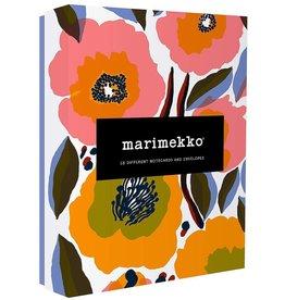 Notecards  Marimekko Kukka 16 pieces