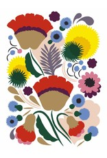 Notecards  Marimekko Kukka 16 st