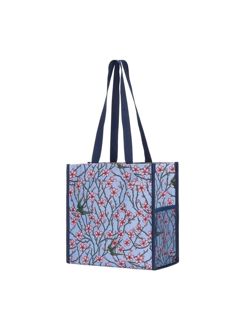 Shopper bag Blossom and Swallow