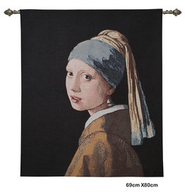 Gobelin tapestry The Girl with a Pearl Earring